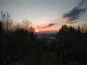Beachtliche Sonnenuntergänge